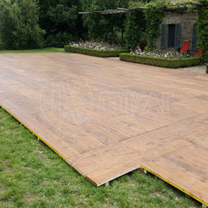 wooden floor for ceremonies, weddings and events